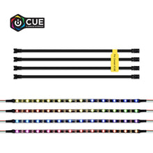 Load image into Gallery viewer, 40cm LED Strip Rainbow RGB LED Lighting Kit for iCUE on Corsair Cases