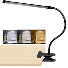 Load image into Gallery viewer, 8W LED Clip on Lamp, Desk Light with 3 Modes 2M Cable Dimmer 10 Levels Clamp Table Lights