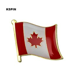 Canada Flag Lapel pin Badges On A Pin Brooch Jewelry