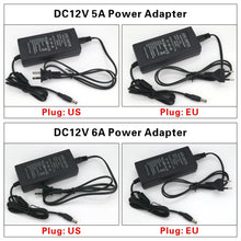 Load image into Gallery viewer, Power Supply DC12V Unit 1A 2A 3A 5A 6A Transformer AC 110V 220V 220 V for LED Strip