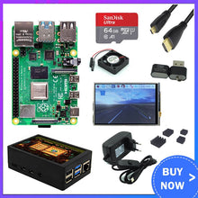 Load image into Gallery viewer, Raspberry Pi 4 Model B Development Board Kit RAM 1G/2G/4G 4 Core CPU 1.5Ghz