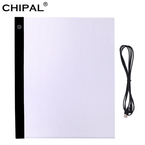 CHIPAL A3 Digital Graphics Tablet for Drawing Pad Art Painting Graphic Copy Board
