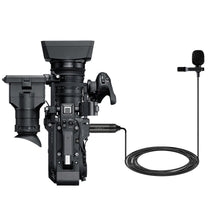 Load image into Gallery viewer, Lavalier Microphone Omni-directional Condenser  Clip on Lapel Mic for Camera Camcorders