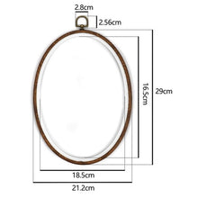 Load image into Gallery viewer, Embroidery Ring Hoop Tool Embroidery Cross Stitch Hoop Frame Ring Round Hoop