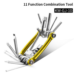 Bicycle Tools Sets Mountain Bike Bicycle Multi Repair 16 in 1  Tool Kit Hex Spoke Wrench etc.