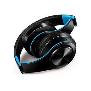 Wireless Headphones Bluetooth Headset Fold-able With Microphone