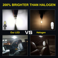Load image into Gallery viewer, 10pcs T10 LED Lamp 400 LM/W W5W 194 168 LED Bulbs Super Bright Side License Plate Lights DC 12V