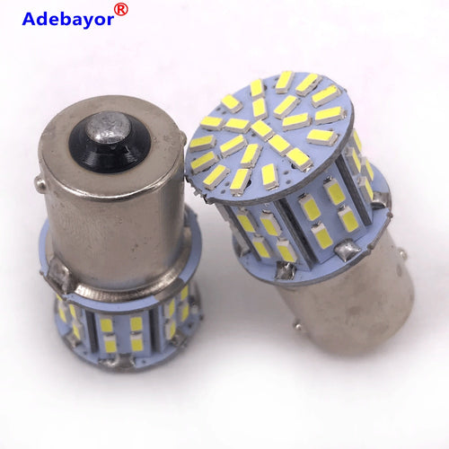 100X p21w 1156  BA15S BAY15D 3014 50 Smd Bulbs White 12V