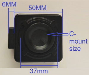 High-Resolution 5MP USB Microscope Camera Electronic CMOS With 1/1 CTV Adapter Measurement Software