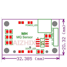 Load image into Gallery viewer, 9PCS Gas Detection Sensor Modules MQ-2 MQ-3 MQ-4 MQ-5 MQ-6 MQ-7 MQ-8 MQ-9 MQ-135 Kit