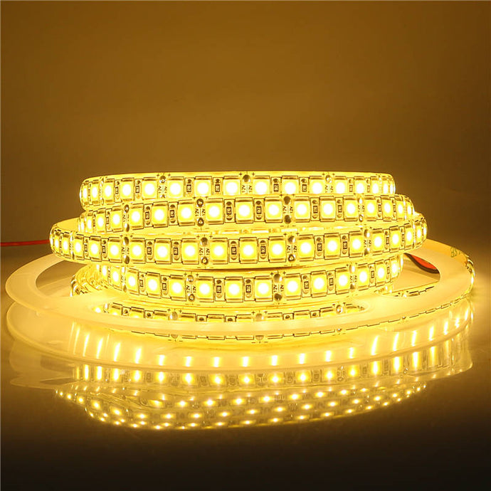 LED Strip Light 12V 5 Meters 300 600 LEDs High Lumen LED Diode Ribbon Tape Light