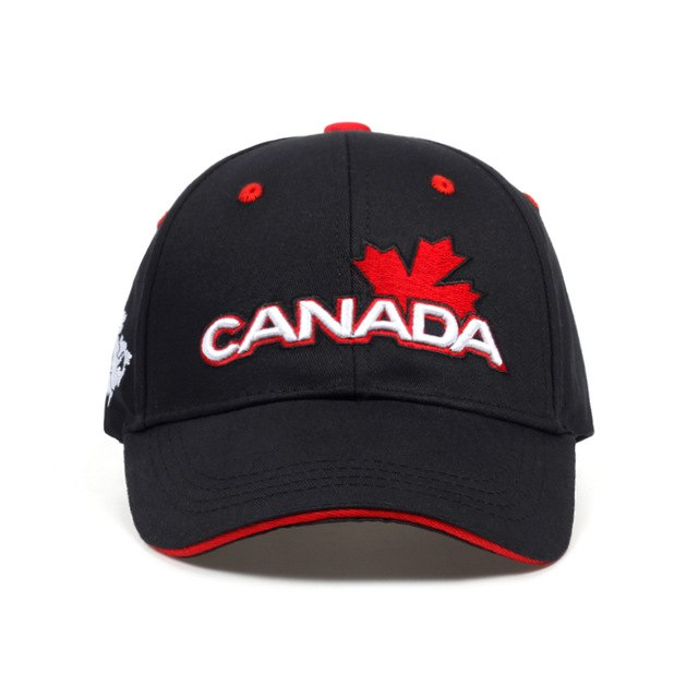 Awesome Canada Baseball Cap Flag Of Canada Hat Snapback Adjustable ... 978115681cb