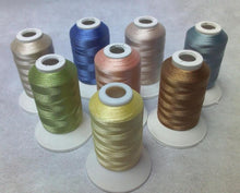 "Load image into Gallery viewer, ""Color"" Series  Polyester Machine Embroidery Thread (8 Spools)"