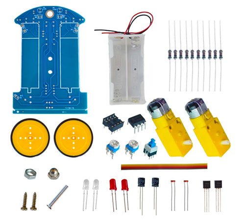 D2-1 DIY kit Intelligent track the car kit D2-1 Electronic