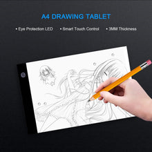 Load image into Gallery viewer, A4 LED Light Pad Tracing Digital Drawing Tablet Copy Board Painting