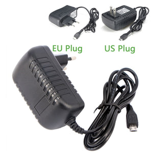 Power Adapter Micro USB  5V 3A 2A 2.5A 5 v volt 100-240V Charger for Raspberry PI 3 Tablets etc