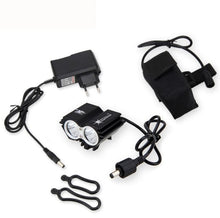 Load image into Gallery viewer, Front Bicycle Lamp Bike Headlight Headlamp with 18650 Battery and Charger