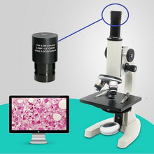Load image into Gallery viewer, HD CMOS USB 2.0MP USB Universal Digital Eyepiece Microscope  Mounting Size 23.2 mm with Ring Adapters