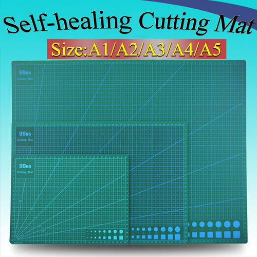 PVC cutting mat A1/A2/A3/A4/A5 cutting mat Green Patchwork tools