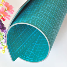 Load image into Gallery viewer, PVC cutting mat A1/A2/A3/A4/A5 cutting mat Green Patchwork tools