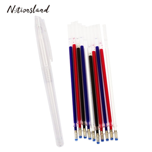 Heat Erasable Refill Pens Disappearing Fabric Marker Pen for Patchwork Fabric