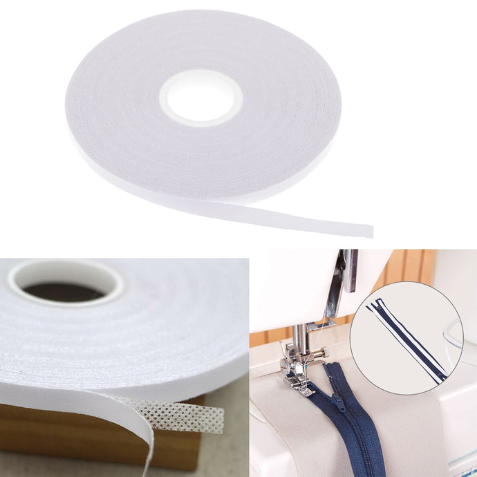 2Pcs Double Sided Adhesive Tape for Sewing, Quilting. Wash Away Tape 20 Meters, 6mm