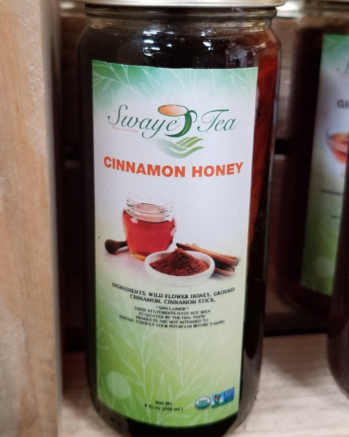 Cinnamon Honey (infused)