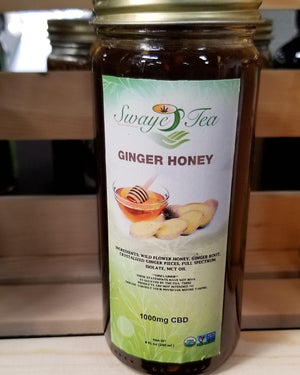 Ginger (Infused) Honey - Swaye Tea