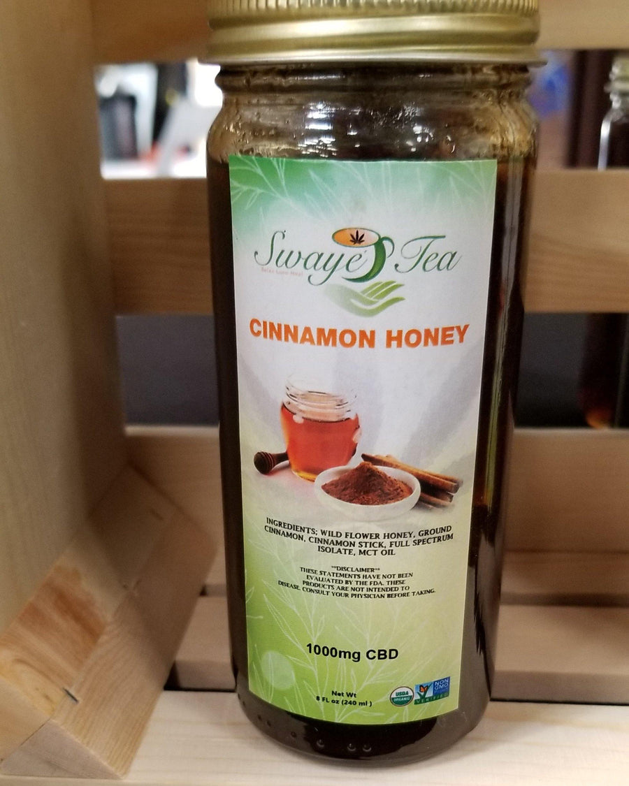 Cinnamon (Infused) Honey - Swaye Tea