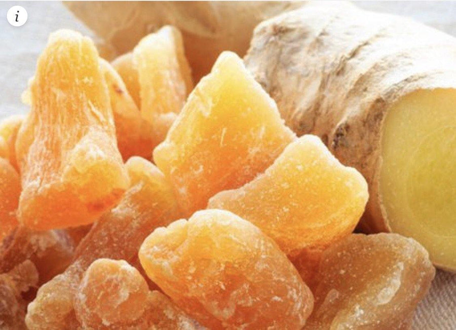 Crystallized Ginger 2 oz - Swaye Tea
