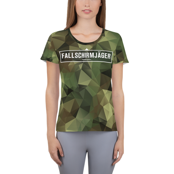 """Fallschirmjäger"" Athletic Sport Shirt"