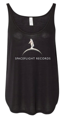 Spaceflight Records Women's Flowy Tank with Side Slit