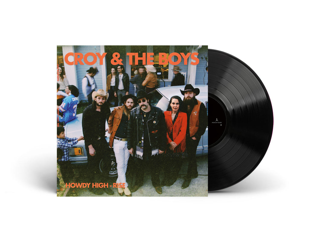 Croy & The Boys LP - 12