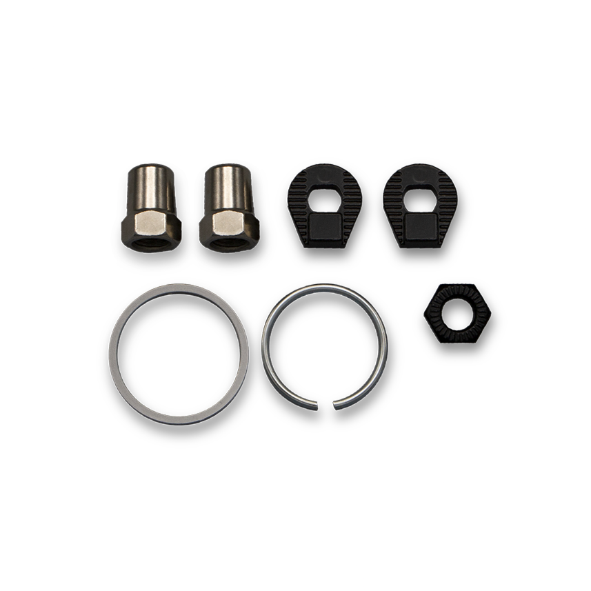 MANUAL MOUNTING HARDWARE - HUB CT/CO/TR