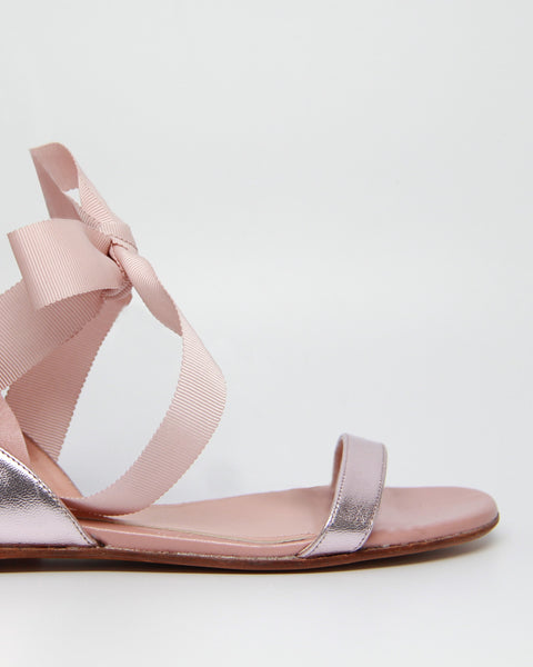 FRILLS FOR ALL SANDAL FLAT