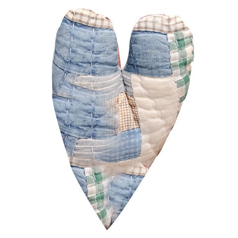 The Little Sugars - Hand Stitched Heirloom Quilt Heart