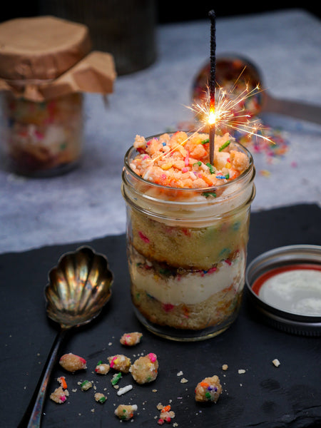 Birthday Confetti Cake Jar - 8oz.