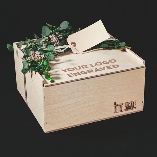 Large Corporate Wooden Gift Box