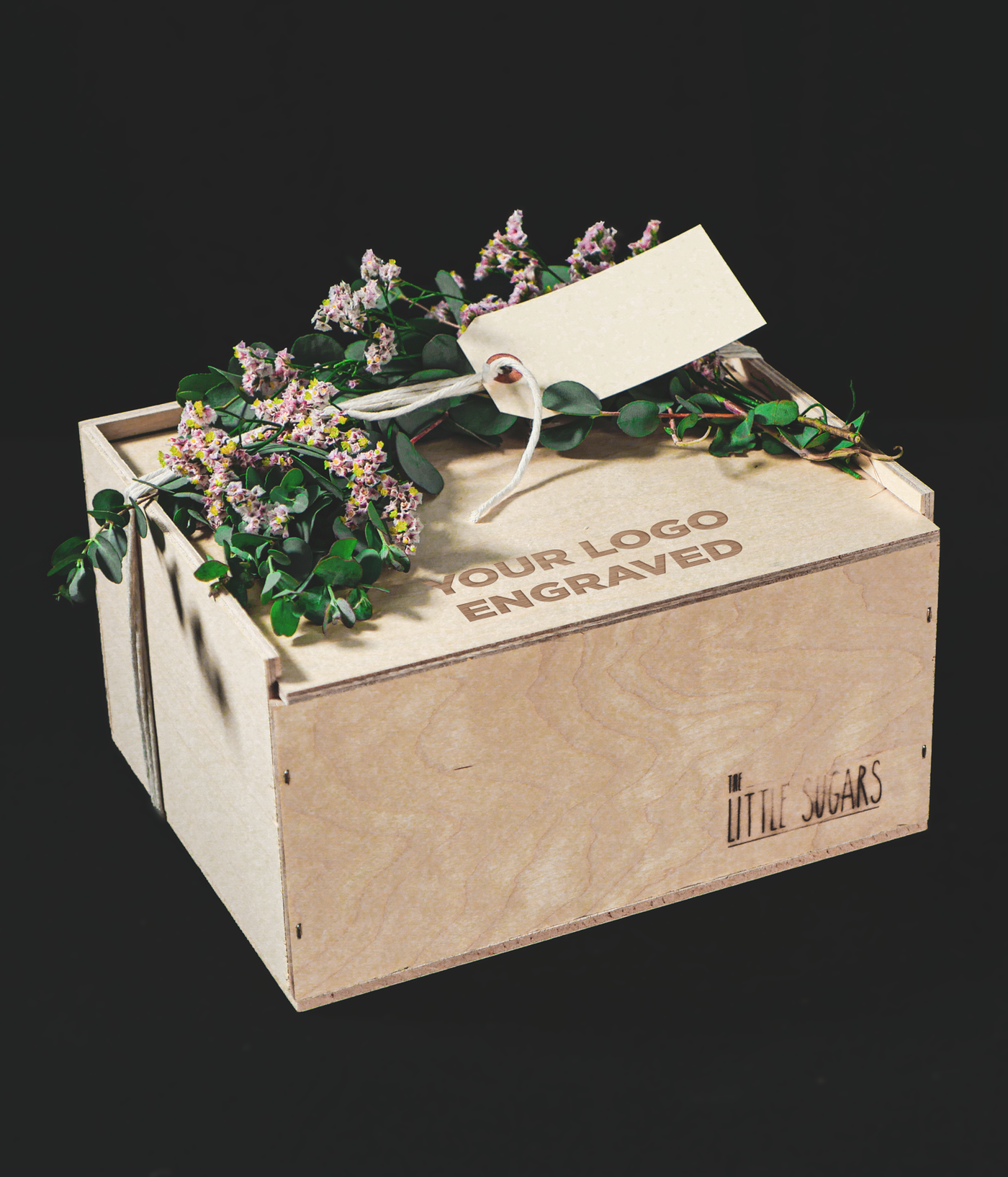 Medium Corporate Wooden Gift Box