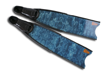 Load image into Gallery viewer, Leaderfins Blue Camo Stereofins