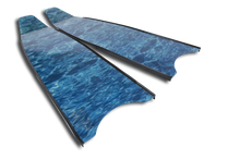 Load image into Gallery viewer, Leaderfins Blue Camo Blades