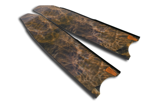 Leaderfins Brown Camo Blades