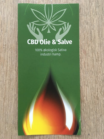 CBD-Care4you Brochurer med indstik