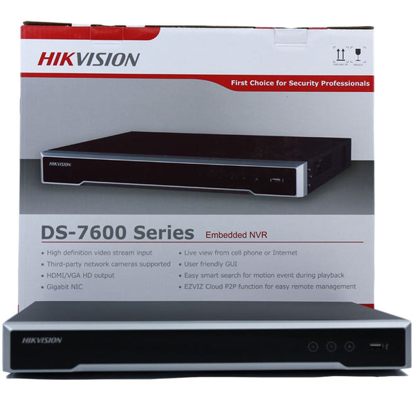 Hikvision DS-7616NI-I2-16P 16 Channel Network Video Recorder