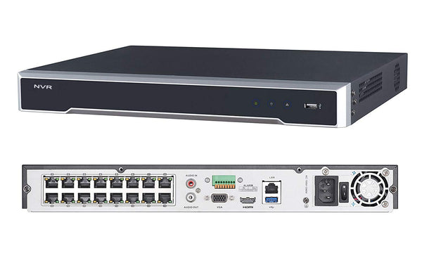 Hikvision DS-7616NI-K2-16P | 16 Channel POE Network Video Recorder