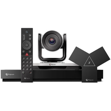 Poly G7500 Large Room 4k UHD Video Conferencing Bundle