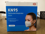 BYD KN95 Particulate Respirator (50 Pieces) Shipping Free Global