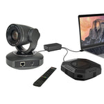 Conferencing Kit 10x Optical zoom 1080p Full HD Video and Audio USB Conference PTZ Camera with speakerphone
