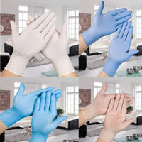 Medical Grade Nitrile Rubber Gloves Disposable Medical Gloves For Examination COVID-19 Protective Gloves