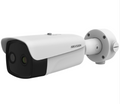 Hikvision DS-2TD2637B-10/P 4mm 4MP thermal imaging temperature screening network bullet camera can be widely used in customs, airports, schools and hospitals for quarantine and isolation